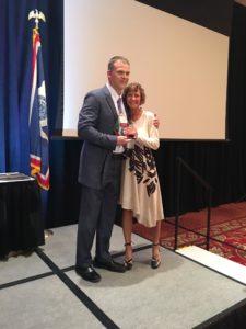 Becky Lewis - Professionalism Award