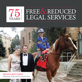 Free & Reduced Legal Services: Megan and Matt Goetz: Chairman of the 2013 La Grande Fleur