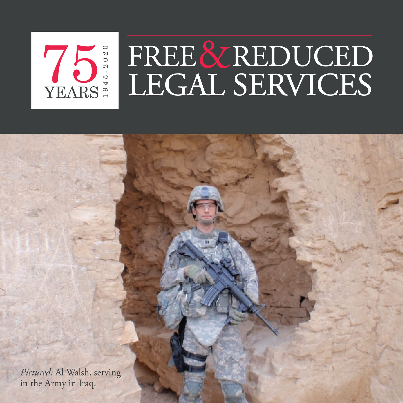 75 Years of Free & Reduced Legal Services: Al Walsh