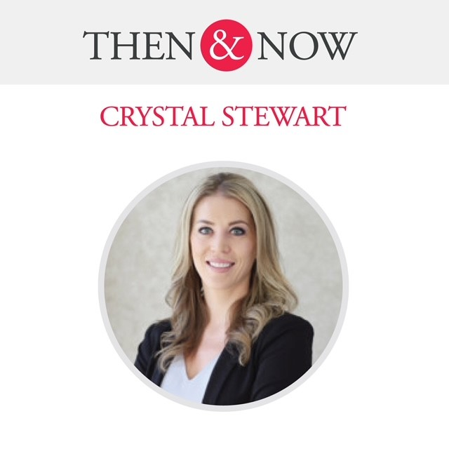 Then&Now: Crystal Stewart