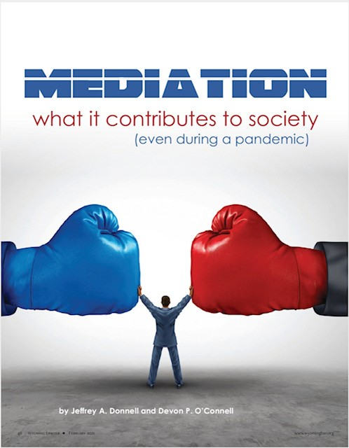 Mediation: What it contributes to society (even during a pandemic)