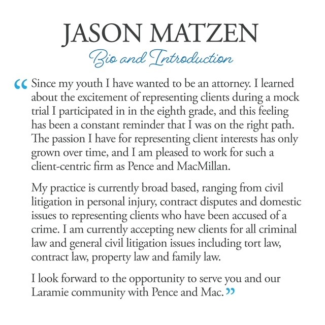 New Faces & Shadows: Jason Matzen Bio and Introduction
