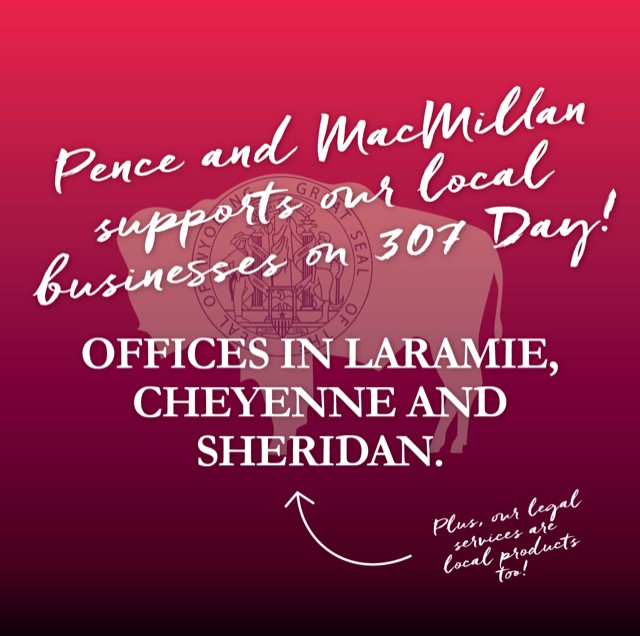 Pence and MacMillan supports our local businesses on 307 Day!