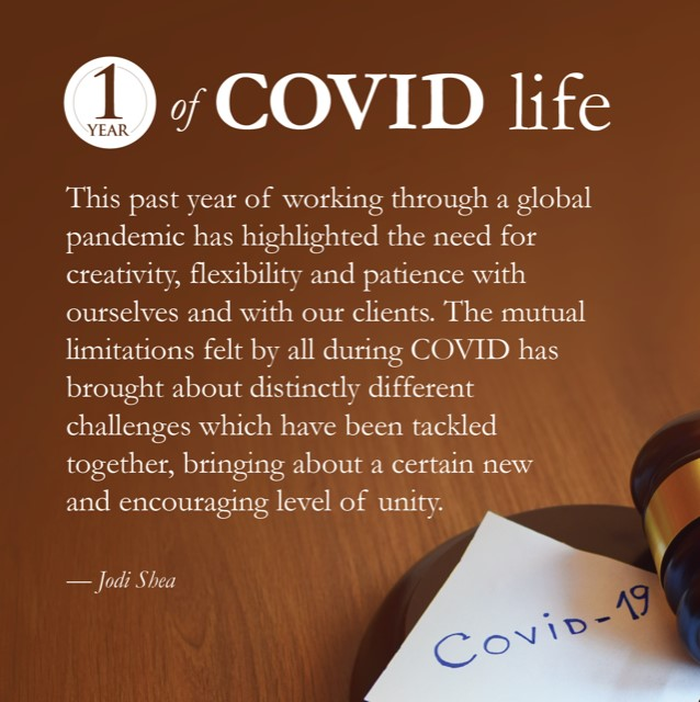 1 Year of Covid Life