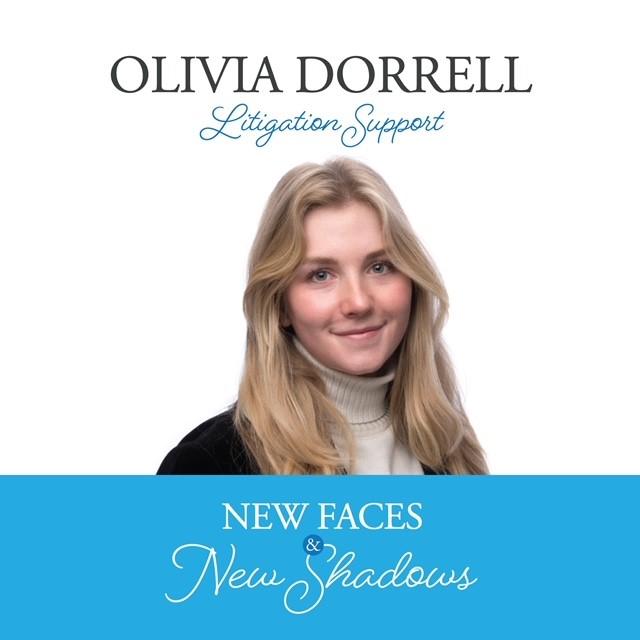 New Faces & New Shadows: Olivia Dorrell