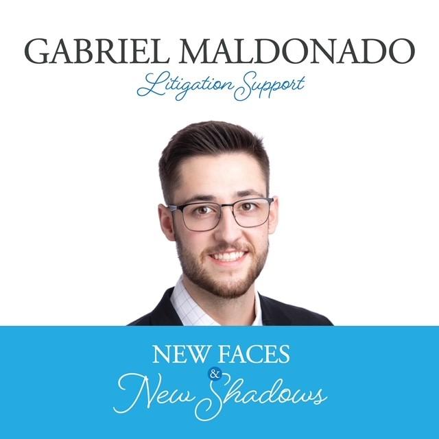 New Faces & New Shadows: Gabriel Maldonado