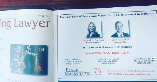 Wyoming Lawyer Ad