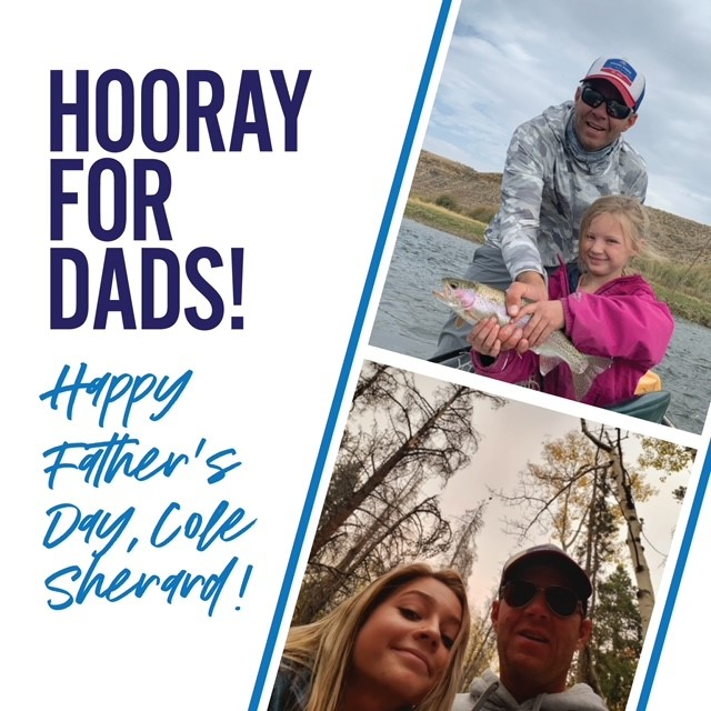 Hooray for Dads! Happy Father's Day, Cole Sherard!