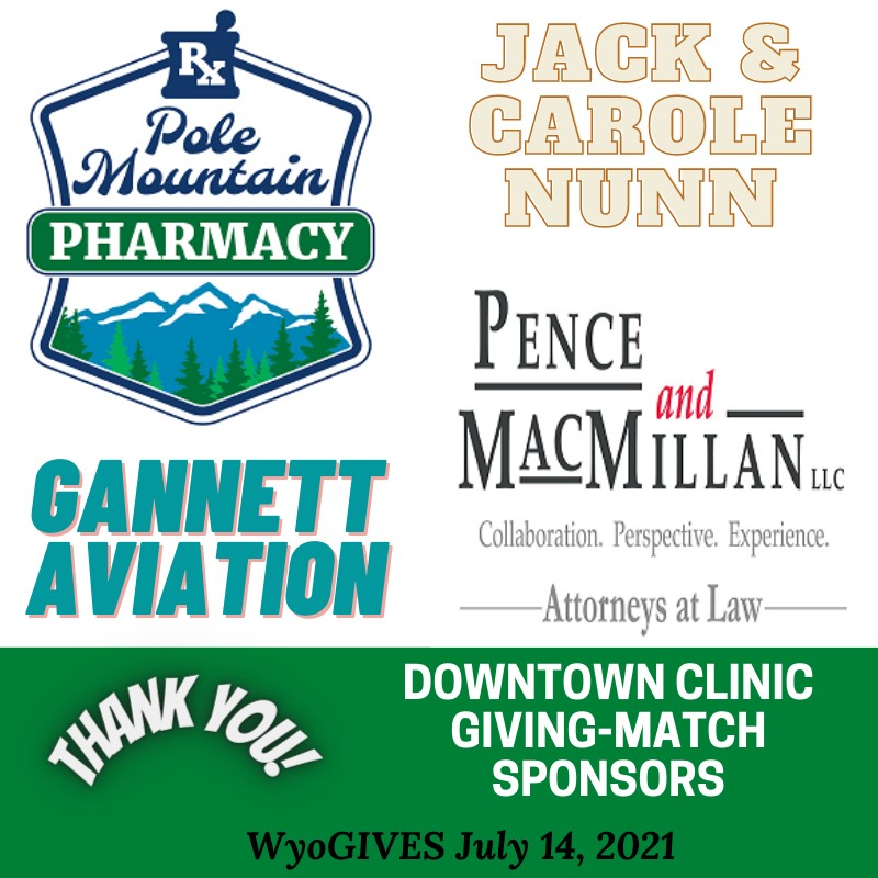 Downtown Clinic Giving-Match Sponsors