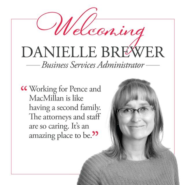 Welcome Danielle